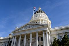 Stock Photo of sacramento california capitol