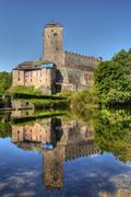 kost castle - stock photo