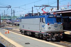 Amtrak nopeita junia Acela Kuvituskuvat