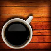 Coffee time. abstract still-life with cup of espresso Stock Photos