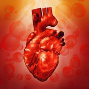 human heart. abstract medical backgrounds for your design - stock illustration