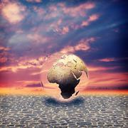 Save the earth. abstract environmental backgrounds for your design Stock Photos