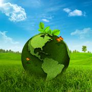 green earth. abstract environmental backgrounds - stock photo