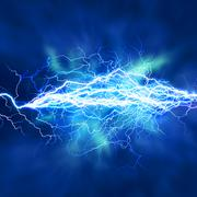 Electric lighting effect, abstract techno backgrounds for your design Stock Photos