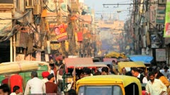Chandi Chowk market Delhi, India, Asia - stock footage