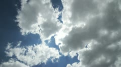 clouds 4k - stock footage