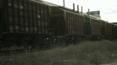 Train twixtor - stock footage