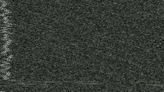 TV Distortion Effect Stock Footage