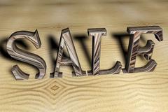 Stock Illustration of sale word