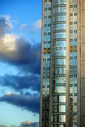 Skyscraper excerpt Stock Photos