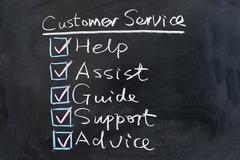 Stock Photo of customer service concept