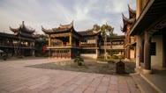 Old Chinese Architecture in Mudu, Wuzhong, Suzhou Stock Footage