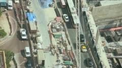 Dubai City Construction development, UAE, Stock Footage