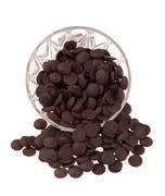 Delicious chocolate pralines isolated on white Stock Photos