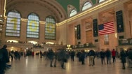 Stock Video Footage of Grand Central Terminal Timelapse 2