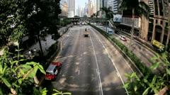 Vehicles Hong Kong Island Stock Footage