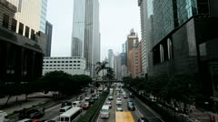 Financial District, Hong Kong Island, Time Lapse Stock Footage