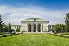 Bucharest National Opera Stock Photos