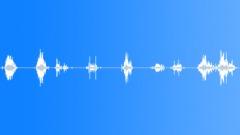 Glass Debris Shuffle - 7 Variations Sound Effect