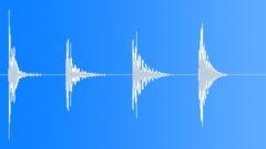 Stock Sound Effects of Glass Thud - 4 Variations