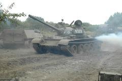 tank t-34 - stock photo