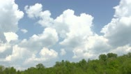 Stock Video Footage of Cloudscape Timelapse