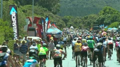 Cycle race 2,Capetown ,South Africa Stock Footage