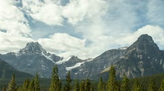 Rocky Mountains Timelapse - stock footage