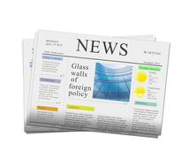 News papers Stock Illustration
