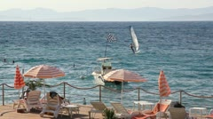 Summertime at Adriatic Sea Stock Footage