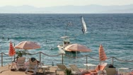 Stock Video Footage of Summertime at Adriatic Sea