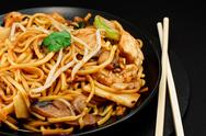 Stock Photo of chicken chow mein