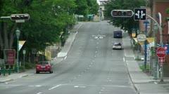 Rue Lafontaine déserte - stock footage