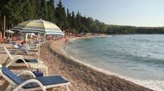 Summertime on Adriatic Sea - stock footage