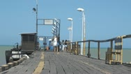Boardwalks, Beaches, Tourist Spots Stock Footage