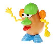 mr. potato head - goofing off - stock photo