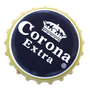 Corona beer metal cap Stock Photos