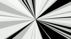 White radial rays with alpha Stock Footage