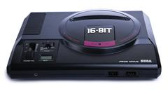 isolated sega mega drive game console - stock photo