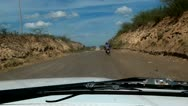 Driving in Desert, Hot, Off Roading, Jeeping, Transportation Stock Footage