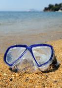 Diving mask Stock Photos