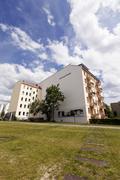 berlin wall memorial bernauer strasse - stock photo