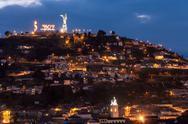 Quito Ecuador Hill Stock Photos