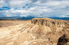 Desolate Dry Desert Stock Photos