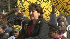 Janet Murguia, President of La Raza Stock Footage
