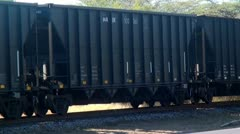 Trains, Rail Cars, Tracks, Transportation Stock Footage