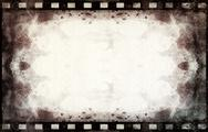 Grunge film frame with space for text or image Stock Illustration