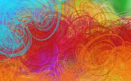 Grunge art style  textured abstract digital background Stock Illustration