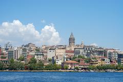 Golden Horn in Istanbul Turkey Stock Photos