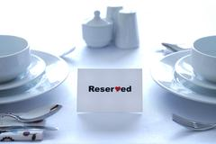 Reserved for Love Stock Photos